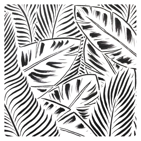Ink drawing - Jungle